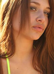 Lili Jensen In A Tiny Gstring Bikini Bottom - Picture 4